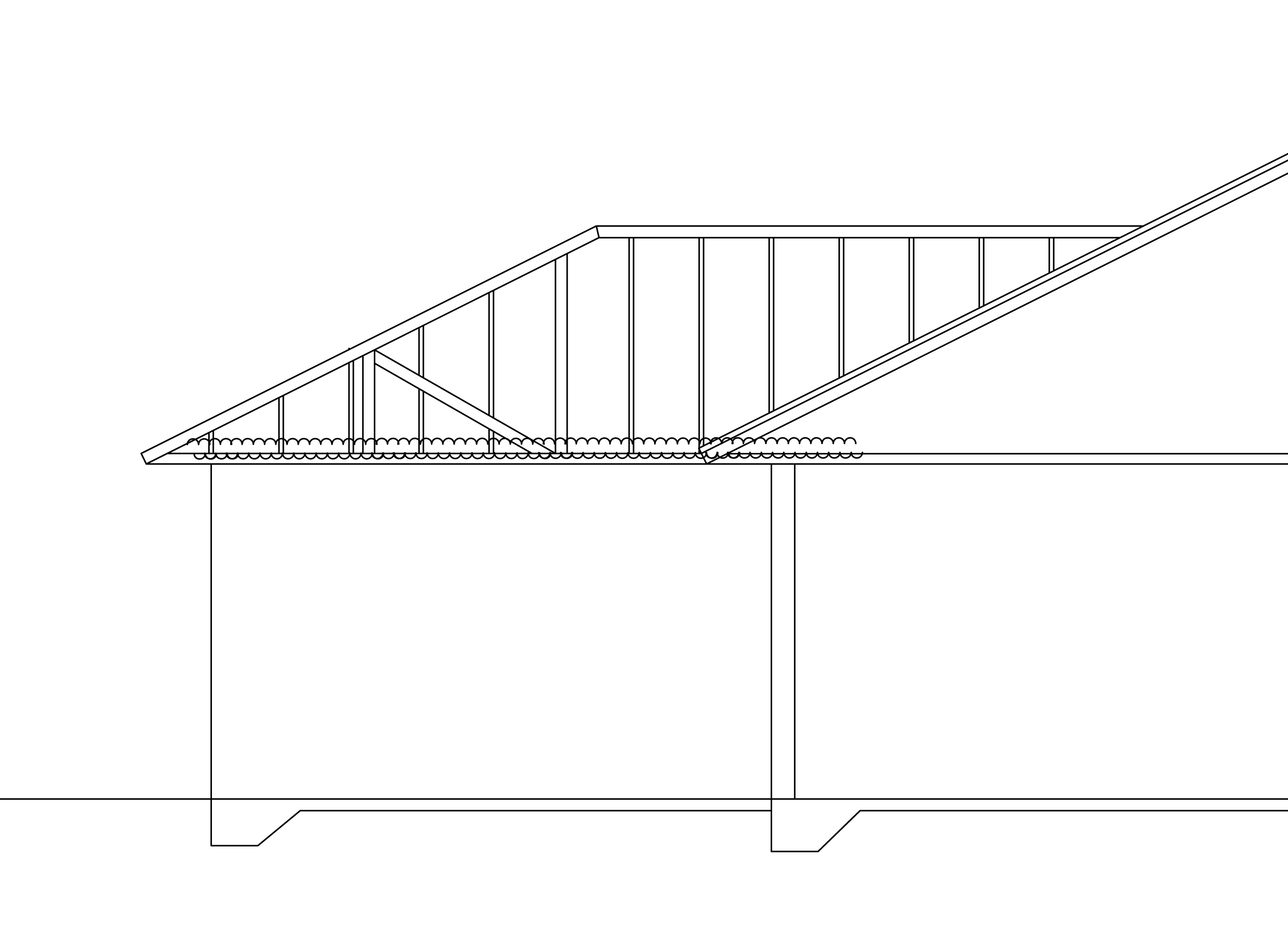 Awesome Design For Drawing Room #1: House-addition-structure-drawing-for-roof2.jpg